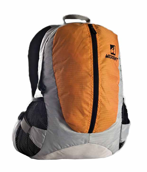 Wildcraft Jazzy Orange Laptop Backpack