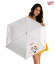 Isabelle Fun White Panda Umbrella