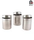 Mosaic Canister Set of 3- 650 ml