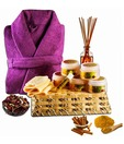 Haldi chandan pamper hamper with Spa Essentials set