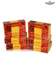 Vaadi Super Value Pack Of 6 Luxurious Saffron Soap - Skin Whitening Therapy (5 + 1 Free)75 g X 6