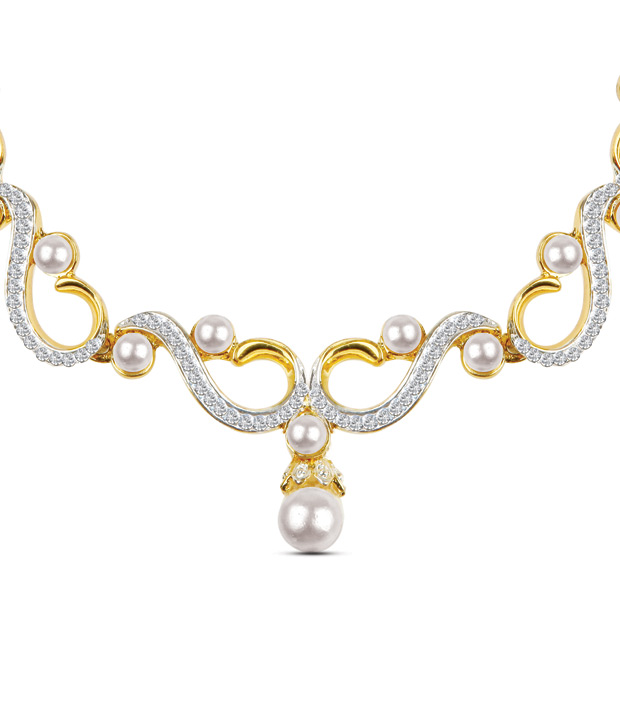 Oleva Adorable Austrian Diamonds Necklace Set