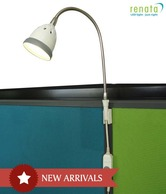Renata LED Grey Workstation Light