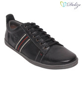Delize Trendy Black Casual Shoes