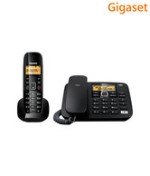 GigasetA590 Corded & Cordless Combo Landline Phone Black