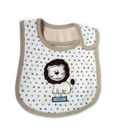 Baby Boo Bibs Brown-Set Of 2