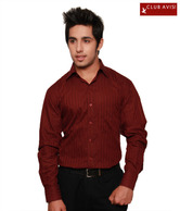 Club Avis USA Classy Maroon Men's Shirt