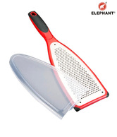 Elephant Stainless Steel Fine Cut Grater With Cover