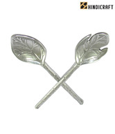 Hindicraft Leaf Shaped Flatware Set