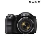 Sony CyberShot H200 20.1MP Point & Shoot Digital Camera (Black)