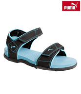 Puma Sonic Wn's Ind Black & Sky Blue Floater Sandals