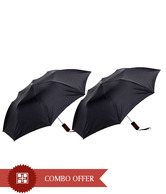 Jorss Lovely Black 2 Umbrellas Combo