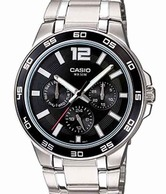 Casio Fascinating Steel Watch
