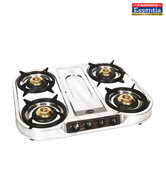 Padmini CS-407 4 Burner Gas Cooktop