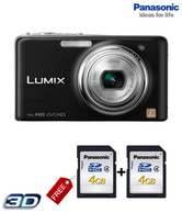 Panasonic Lumix DMC FX78 12.1 MP Point & Shoot Digital Camera (Black)