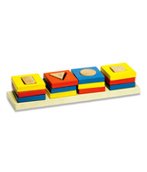 Kinder Creative Geo Cavity Shape Sorter