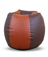 Setner XXXL Brown & Tan Bean Bag