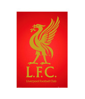 Liverpool Club Crest 2013 (24 x 36 Inches)