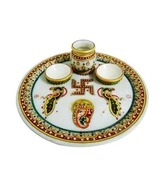 Royal Handicrafts Beautiful Puja Thali