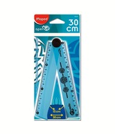 Maped Open Up Ruler (Pack Of 3)