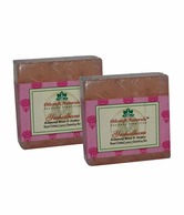 Oilcraft Naturals Kannauj Rose & Honey Ayurvedic Soap (Set of 2) 250 g