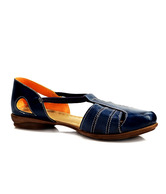 Catwalk Superb Navy Blue Flat Sandals