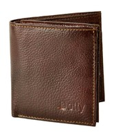 Dotty Chocolate Brown Formal Wallet