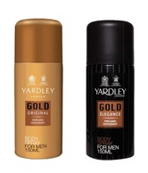 Yardley Men (Gold Elegance, Gold) 150ml - Each