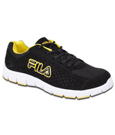 Fila Oliver Black & Yellow Sports Shoes