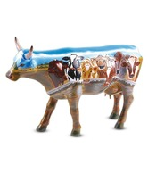 Archies Cow Theme Cow Showpiece