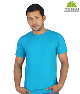 Tekki Aqua Blue Men's T-Shirt