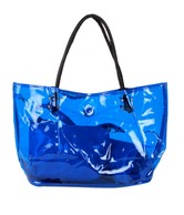 1 Bolzo Blue Tote Bag, Pouch & Sling Bag Set