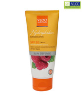 VLCC Hydrophobic Sun Block Lotion SPF 50 (with raspberry seed oil)100g