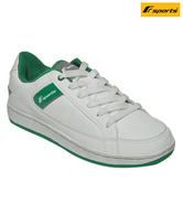 F Sports Dynamic White & Green Sports Shoes