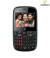 Videocon V1575 (Black-Red)