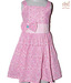 Kilkari Pink Polka Bow Dress