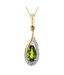 AG Gorgeous Drop Diamond Pendant