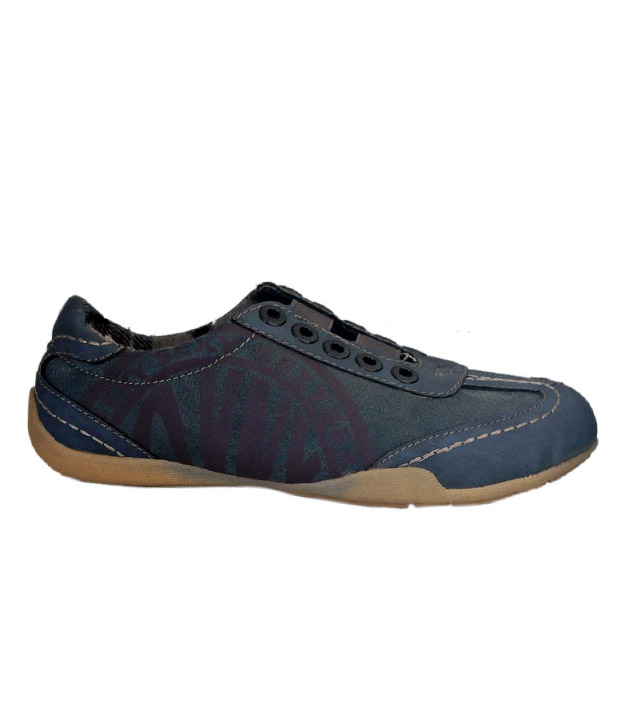 Catwalk Lively Denim Blue Casual Shoes