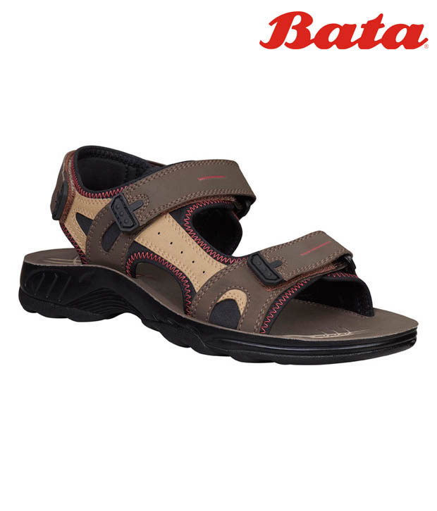 Bata Winner Brown Sandals