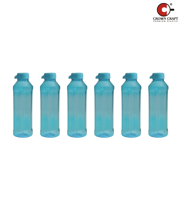 Crown Craft Heaven Turquoise Pet Bottle Set
