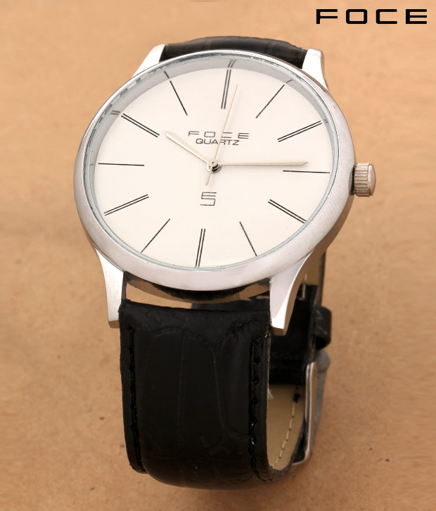 Foce Big Dial Formal Watch