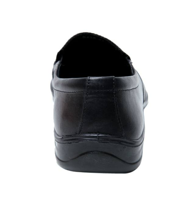 Franco Formal Black Slip On (9438-Black)