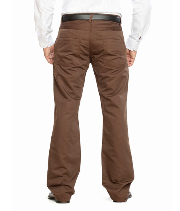Highlander Brown Trousers-Hltr002850