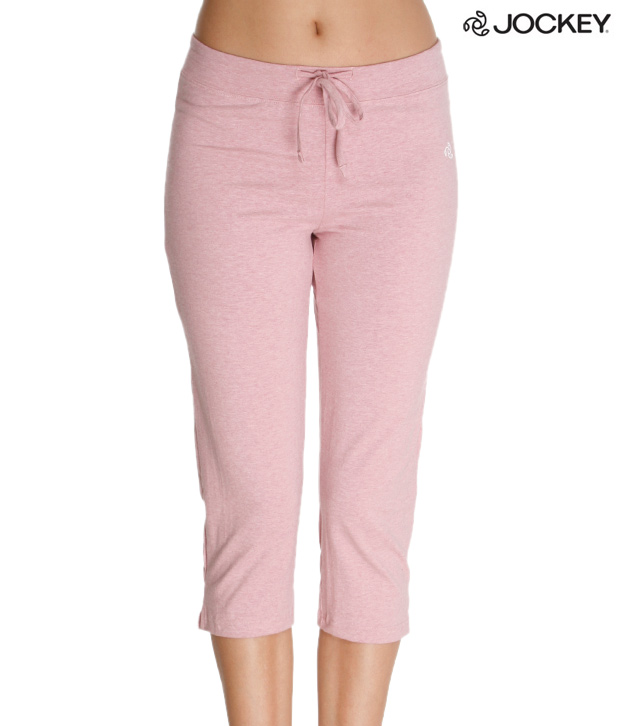 Jockey Pleasant Onion Pink Capri