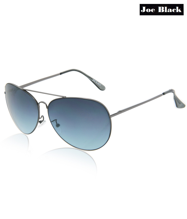 Joe Black Blue Gradience Aviator Sunglasses