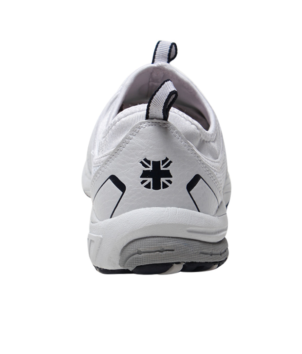 Lee Cooper White & Navy Blue Running Shoes