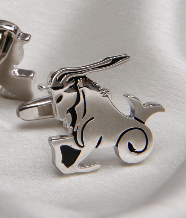 Milano X'xssories Shining Capricorn Cufflinks