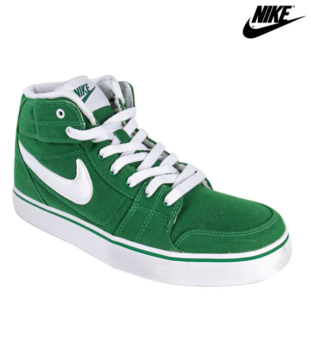 Nike Liteforce Mid Green High Ankle Sneakers