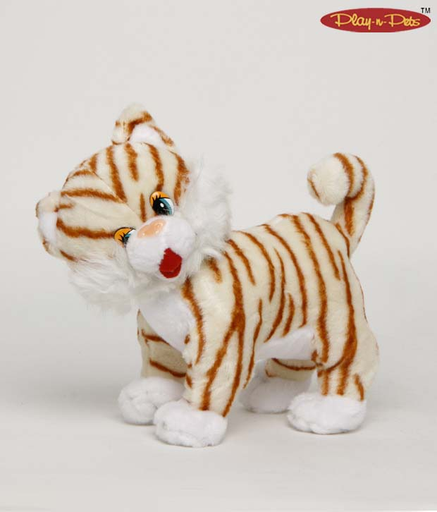 Play-n-Pets Cuddly Cat Soft Toy