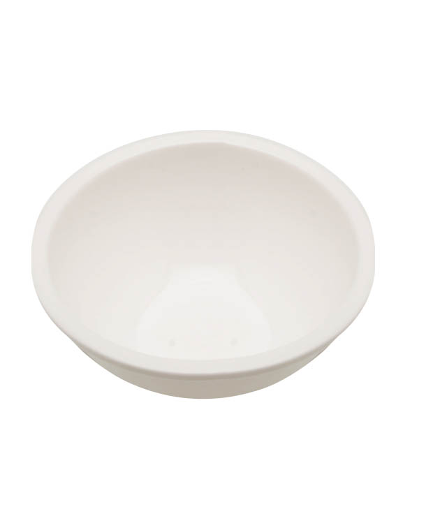 Real White Serving Bowl Set